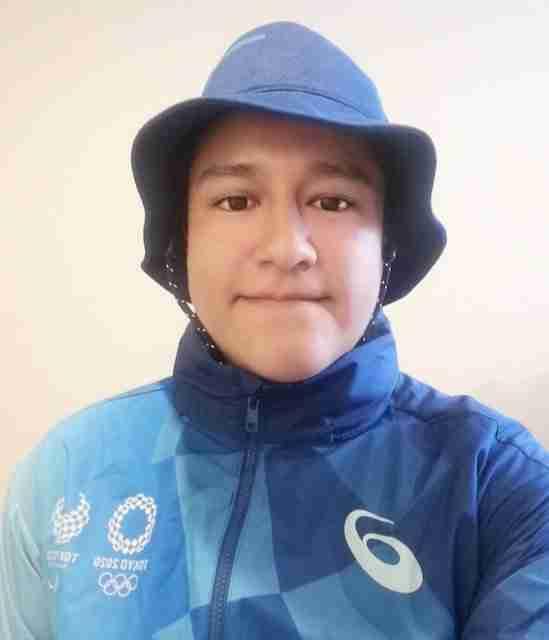 Carlos Hernandez Tokyo 2020 Olympic volunteer